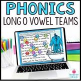 Digital Phonics Activities Long O Vowel Teams Word Work Go