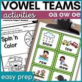 Vowel Teams - Long o - oa oe ow