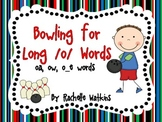 Long /o/ Word Game Center with oa, ow, and o_e words