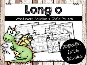 Long o Word Work Activities CVCe