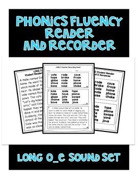 Long o (o_e) - Phonics Fluency Assessment