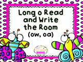 Long o (ow, oa) Read and Write the Room