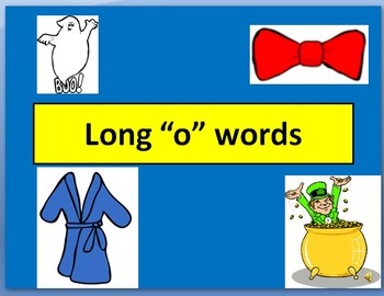 """Long """"o"""" words PowerPoint"""