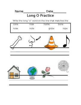Long o_e practice