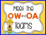 Long oa and ow Word Work Packet