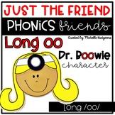 Long oo Craftivity, Phonics Friends Just the Friend