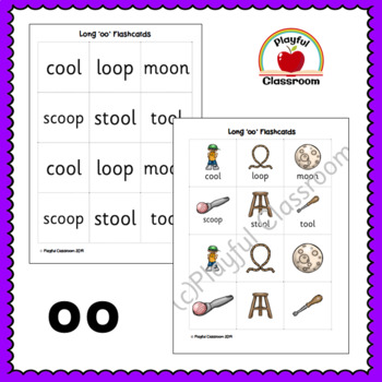 Long 'oo' Phonics Worksheet Pack