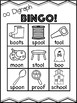 Long oo Vowel Digraph Bingo [10 playing cards]