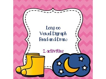Long oo Vowel Digraph Read-and-Draw