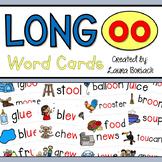 Long oo (oo/ou/ew/ue/ui) Word Cards