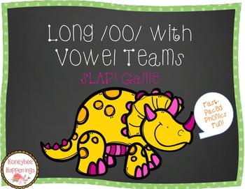 Long /oo/ with Vowel Teams SLAP! Game
