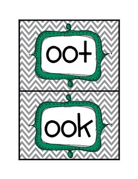 Long-oo word sort