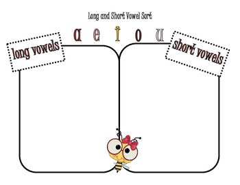 Long or Short Vowel Sort