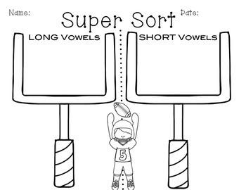 Long or Short Vowel Sort