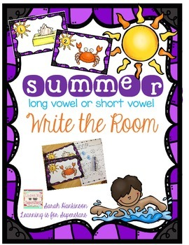 Long or Short Vowel Write the Room