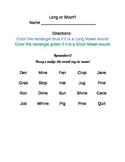 Long or Short Vowel?