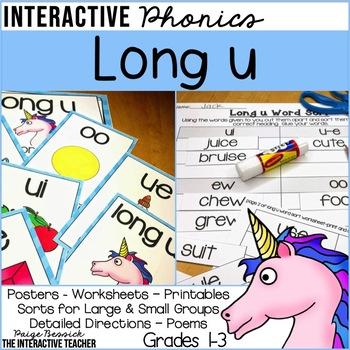 Long u: Sorts & Worksheets