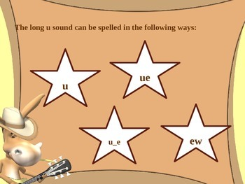 Long u Sound Spelling Powerpoint