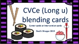 Long u blending cards (w/ visual reminders)