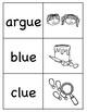 Long u (ue) Picture Word Match