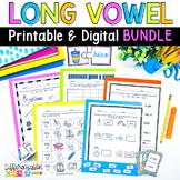Long vowel Activities BUNDLE