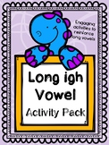 Long vowel activity pack Long I (igh)