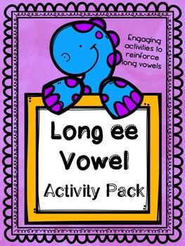 Long vowel activity pack Long e (ee)