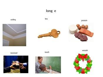 Long vowel diagraphs