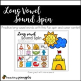 Long vowel sound spin - CVCe word work fun!