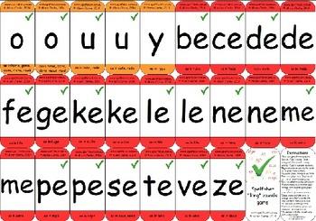 Long vowel wordbuilding game