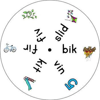 Long vowels - 5 word wheels