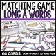 Long vowels matching game