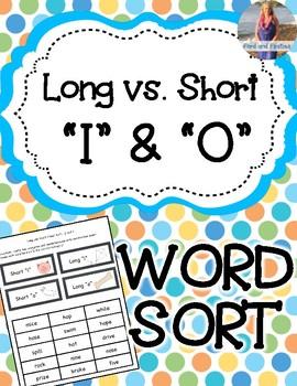 Long vs Short I and O Sort *FREEBIE*
