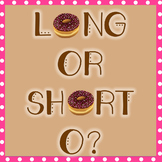 Long vs Short O Word Sort