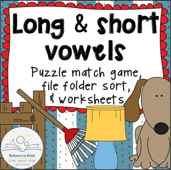 Long vs Short Vowels Practice Games and Worksheets by ...