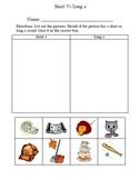 Long vs Short Vowels Sorting Pack