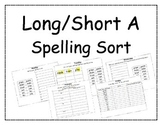 Long/Short A Spelling Packet, Long A Pattern Spelling Pack