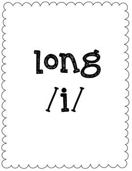 Long/Short I Vowel Sort Game