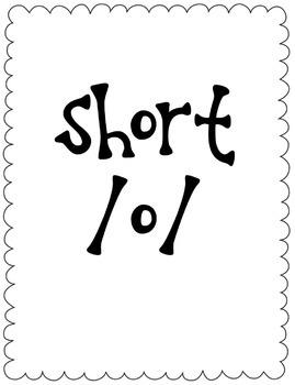 Long/Short O Vowel Sort Game