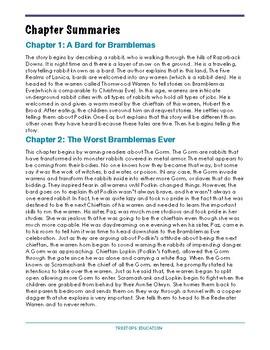 Longburrow: Podkin One-Ear by Kieran Larwood Book Study