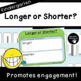 Longer or Shorter Student Mat (Kindergarten-K.MD.1 and K.MD.2)