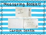 Longest to Shortest Measuring Booklet