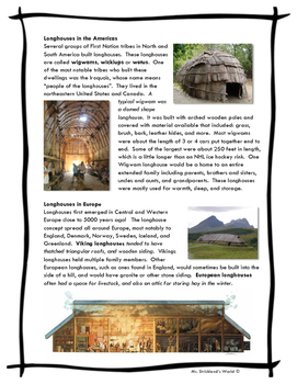 Homes Around The World // Longhouses