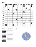 Longitude & Latitude Quiz 1