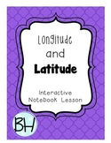 Longitude and Latitude Interactive Notebook Pages
