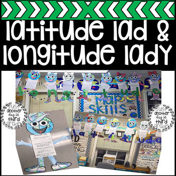 Longitude and Latitude (Longitude Lady & Latitude Lad) Craft