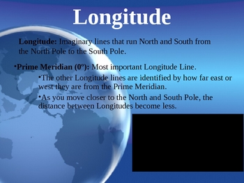 Longitude and Latitude Powerpoint