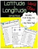 Latitude and Longitude Worksheet