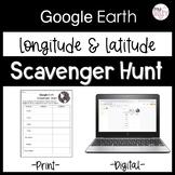 Longitude and Latitude Practice with Google Earth | Distan
