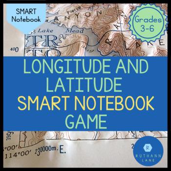 Longitude and Latitude SMART Activity